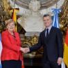El Presidente recibió a la canciller de Alemania