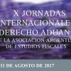 Exitosa Jornada Internacional de Derecho Aduanero