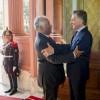 El presidente Macri recibió al primer ministro de Portugal