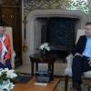 Macri recibió a la presidenta para América de la empresa automotriz BYD