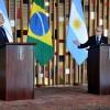 El canciller Faurie y su par de Brasil avanzaron en temas bilaterales y del MERCOSUR