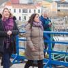 Dietrich recorrió en Ushuaia las obras de ampliación del puerto
