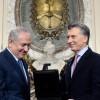 Mauricio Macri recibió al primer ministro de Israel