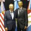 El gobernador Schiaretti recibió a Barack Obama
