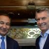 Macri recibió al CEO de la empresa aérea United Airlines