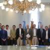 Reunión en Agroindustria con empresarios alemanes
