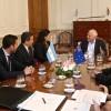 Lifschitz recibió a la embajadora de Nueva Zelanda