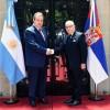 Encuentro con el Canciller de Serbia