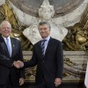 Reunion de Macri y Kuczynski