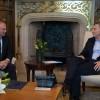 El presidente Macri recibió al titular del Senado de España