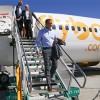 La línea aérea Flybondi hizo su vuelo inaugural en Neuquén capital