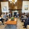 Macri recibió a directivos de Lafarge Holcim