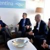 El presidente Macri se reunió en Davos con líderes de importantes empresas internacionales