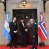 Argentina – Noruega: Faurie recibió a su par y al Ministro de Comercio, Industria y Pesca