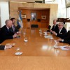 Reunión del Canciller Faurie con el Embajador Británico
