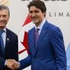 Canadá invitó a la Argentina como observador de la reunión del G7