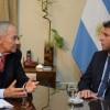 El presidente de la Cámara de Comercio Argentino-Británica visitó a Sergio Uñac