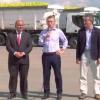 El presidente Mauricio Macri en el acto por la primera exportación de limones a Estados Unidos