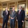 Encuentro del Vicecanciller con el Secretario General de la Cancillería francesa