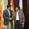 Urtubey y Evo Morales avanzaron en acciones conjuntas para el desarrollo de la zona fronteriza