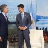 El Presidente mantuvo una audiencia con el primer ministro de Canadá