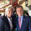 El presidente Macri se reunió con la directora gerente del FMI