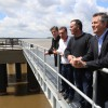 Etchevehere inauguró un muelle en el Puerto Las Palmas, Chaco
