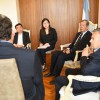 Cornejo recibió a ejecutivos de consorcio chino interesados en invertir en energía renovable
