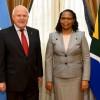 Lifschitz se reunió con la Embajadora de la Republica de Sudafrica