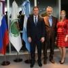 El embajador de Rusia llegó a San Luis y el gobernador le dio la bienvenida