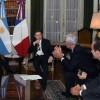 "Faurie: ""A la Argentina le espera un futuro promisorio y eso depende del sector productivo"""