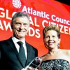 """El presidente Macri recibió el premio """"Ciudadano Global 2018″"""