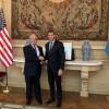 Uñac se reunió con el embajador de EEUU en Argentina