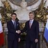 """Macri brindó una recepción al primer ministro italiano: """"Ratificamos que tenemos una agenda rica en términos de futuro"""""""