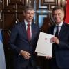 El Presidente recibió cartas credenciales de nuevos embajadores