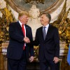 El presidente Macri le agradeció al presidente Trump su apoyo a la Argentina