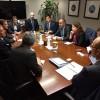 Cornejo se reunió con autoridades del Banco Mundial