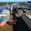 Histórico embarque de 24 mil toneladas de arroz a granel desde Concepción del Uruguay