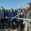 Etchevehere participó de la inauguración de dos nuevos muelles en Tierra del Fuego