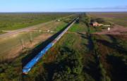 El Belgrano Cargas alcanzó los 700 kilómetros de vías renovadas