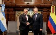 El presidente Mauricio Macri recibió a su par de Colombia