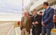 Lifschitz recorrió las obras que se realizan en el aeropuerto de Santa Fe