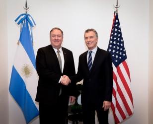Macri recibió al secretario de Estado del gobierno de los Estados Unidos