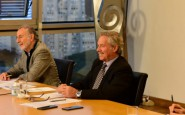 Reunión de trabajo del Ministro con la Mesa de Enlace (para ganar mercados)