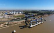Opera nuevo puerto en Timbúes
