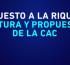 """""""Impuesto a la riqueza"""" postura y propuestas de la CAC"""