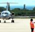 San Luis – Llegó el primer vuelo comercial de pasajeros al Aeropuerto Valle del Conlara
