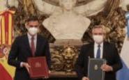 Alberto Fernández y Pedro Sánchez encabezaron la firma de acuerdos bilaterales