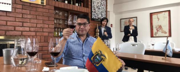 Once bodegas de Mendoza participaron a distancia de una Misión de Vinos en Ecuador