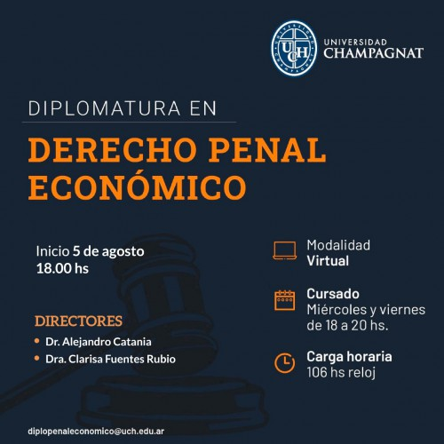 diplomatura derecho penal economico